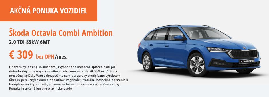Škoda Octavia Ambition Akcna ponuka