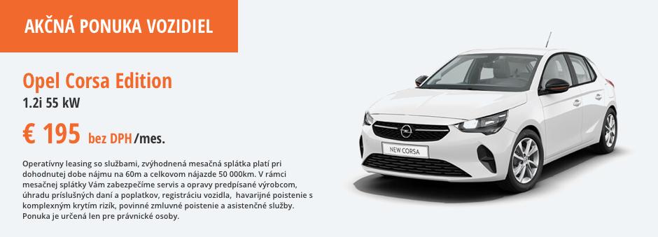 Opel Corsa Akcna ponuka