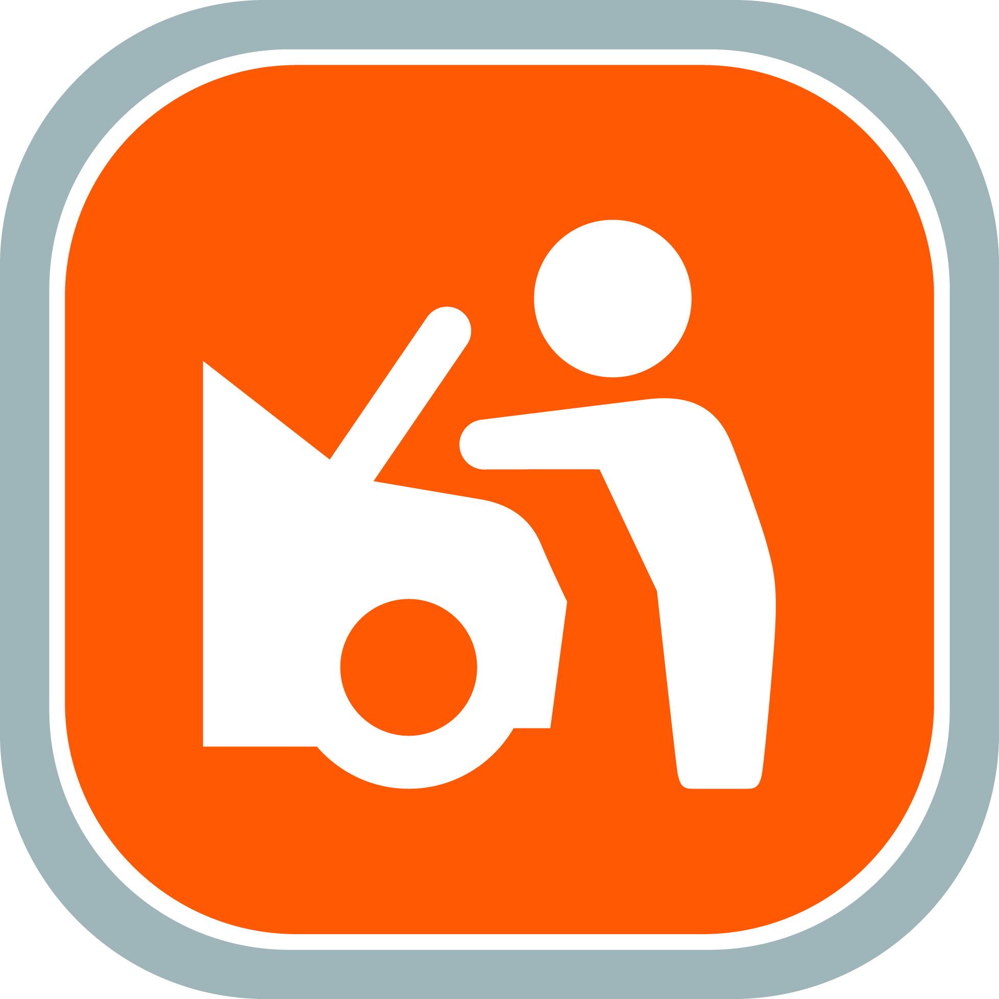Servis a údržba logo